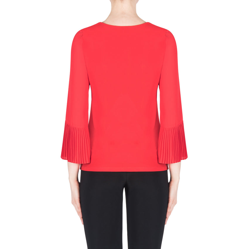 Joseph Ribkoff Top Style 183275 Red Best Price On Sale