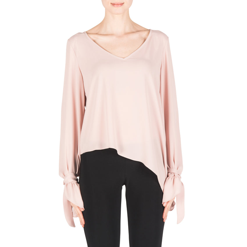 Joseph Ribkoff Top Style 183291 Winter Blush Powder Pink Best Price On Sale