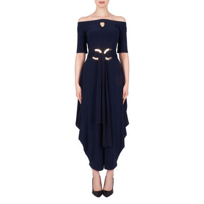 Joseph Ribkoff Jumpsuit 191051 Midnight Blue
