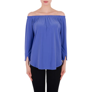 Joseph Ribkoff Top Style 191132 Periwinkle