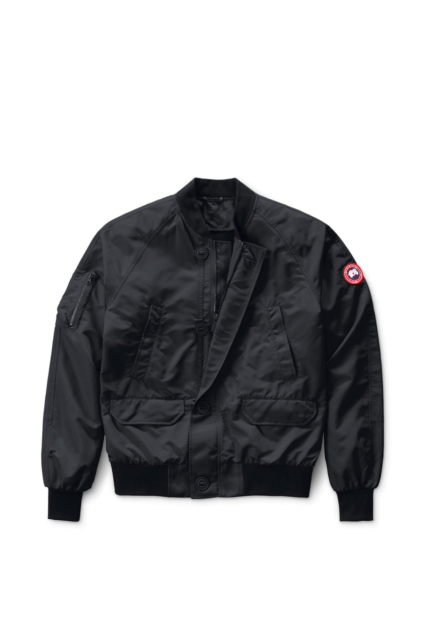 Men's Canada Goose Faber Bomber in Black