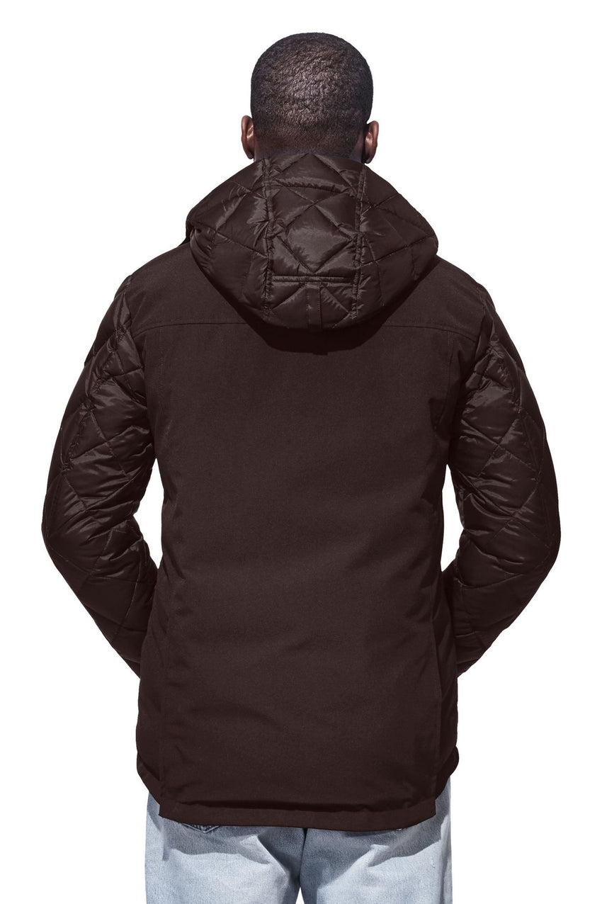 c32c1c07288 uk canada goose hooded lodge jacket groupon 2f171 81750