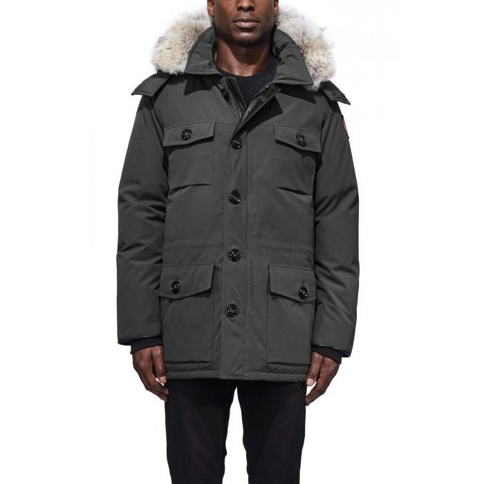 canada goose banff parka black men's jackets