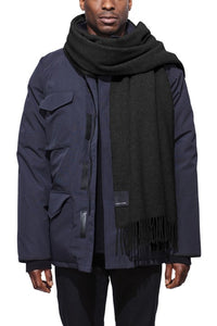 Canada Goose® Mens Solid Woven Scarf
