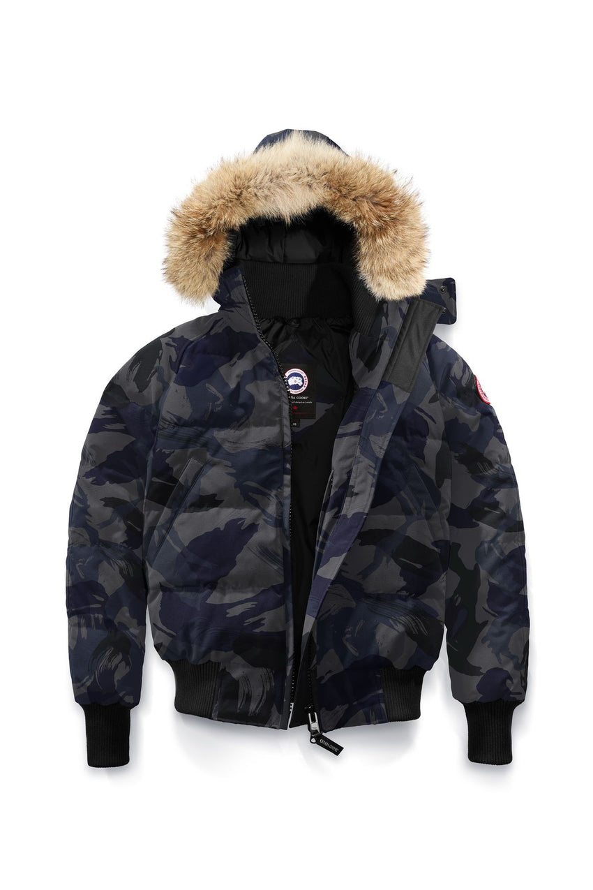 Canada Goose Ladies Savona Bomber in Blue Brush Camo from Freeds