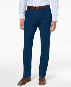 Tommy Hilfiger Modern-Fit TH Flex Stretch Comfort Mens Dress Pants Navy
