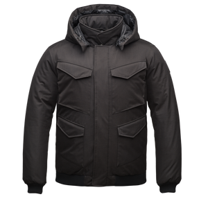 NOBIS Ash Multi-Pocket Bomber Black