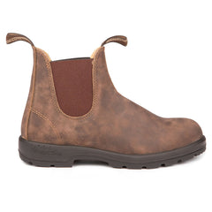 Blundstone 585 Men's Boots - The Leather Lined in Rustic Brown
