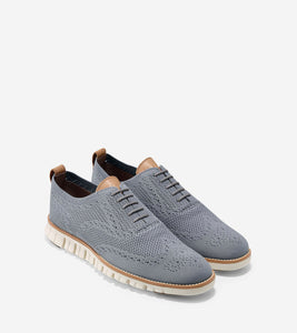 Cole Haan | Men's ZERØGRAND Wingtip Oxford with Stitchlite™ Ironstone