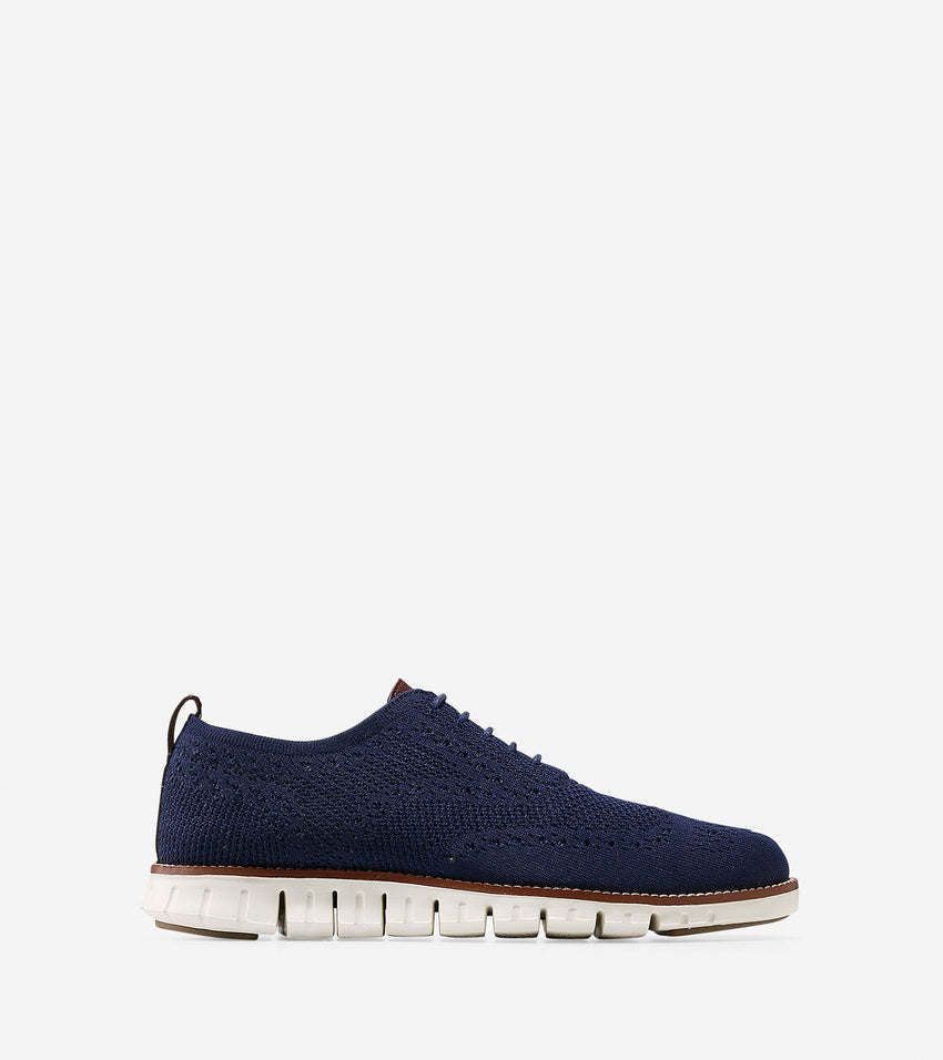 Cole Haan | Men's ZERØGRAND Wingtip Oxford with Stitchlite™ Marine