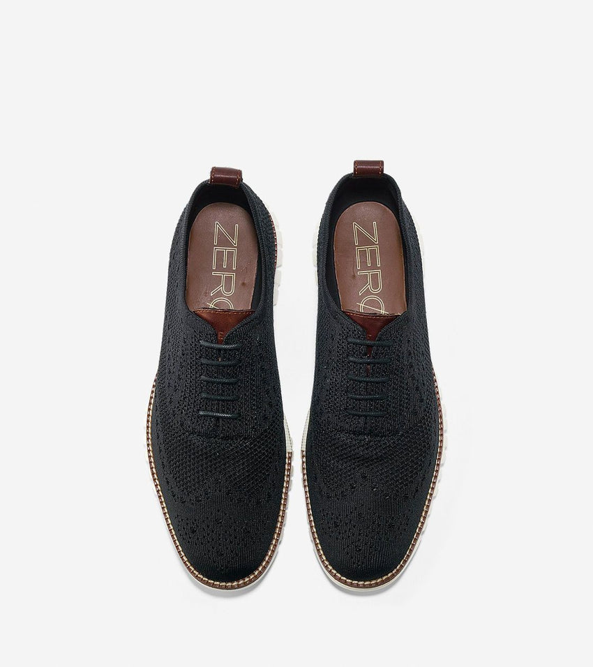 Cole Haan | Men's ZERØGRAND Wingtip Oxford with Stitchlite™ Black