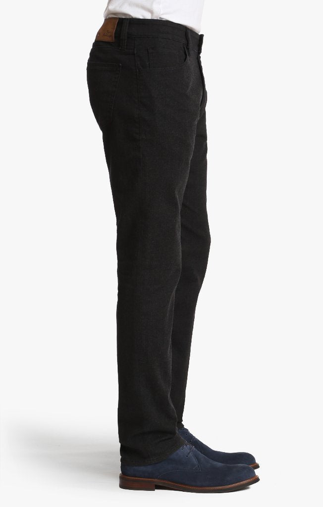 34 HERITAGE COOL TAPERED LEG JEANS IN CARBON ELITE