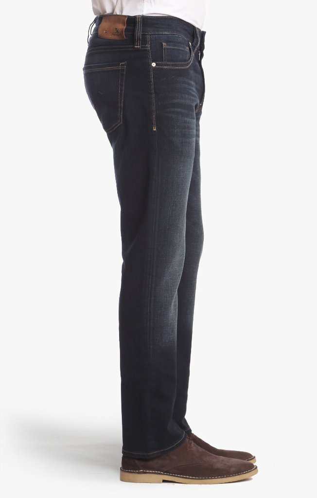 34 HERITAGE Courage Straight Leg Jeans in Deep Foggy