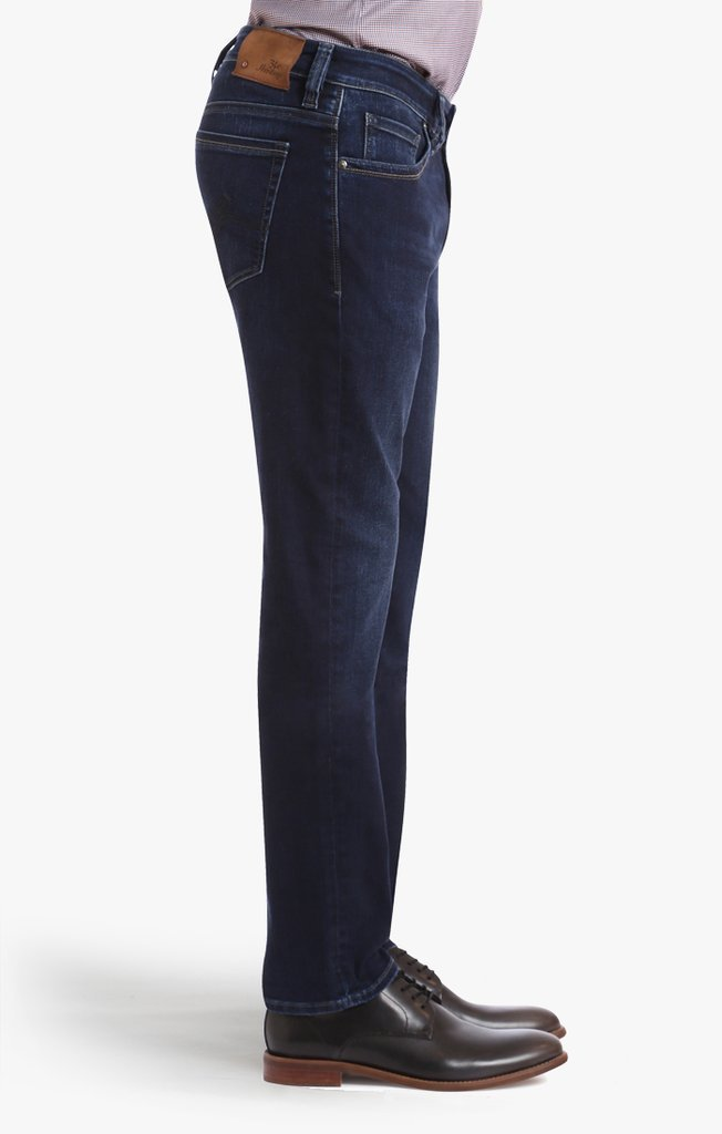 34 HERITAGE Courage Straight Leg Jeans in Indigo Core