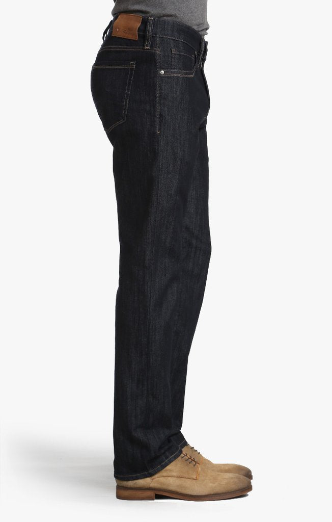 34 HERITAGE Courage Straight Leg Jeans in Rinse Mercerized