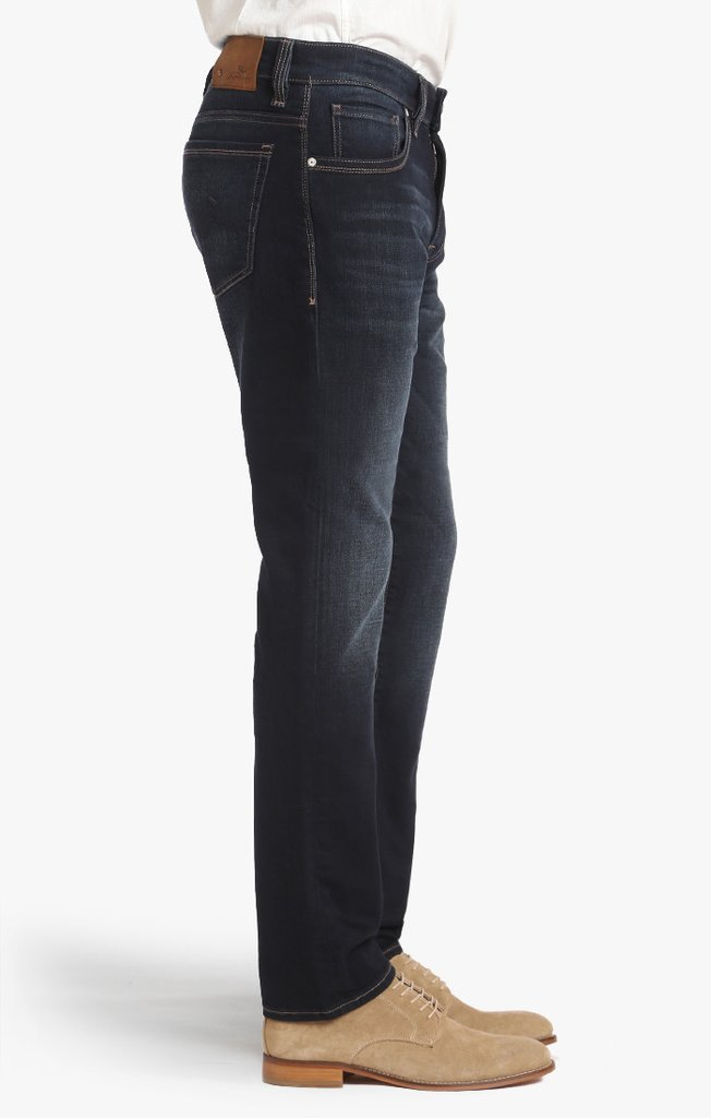 34 HERITAGE COOL TAPERED LEG JEANS IN DEEP FOGGY