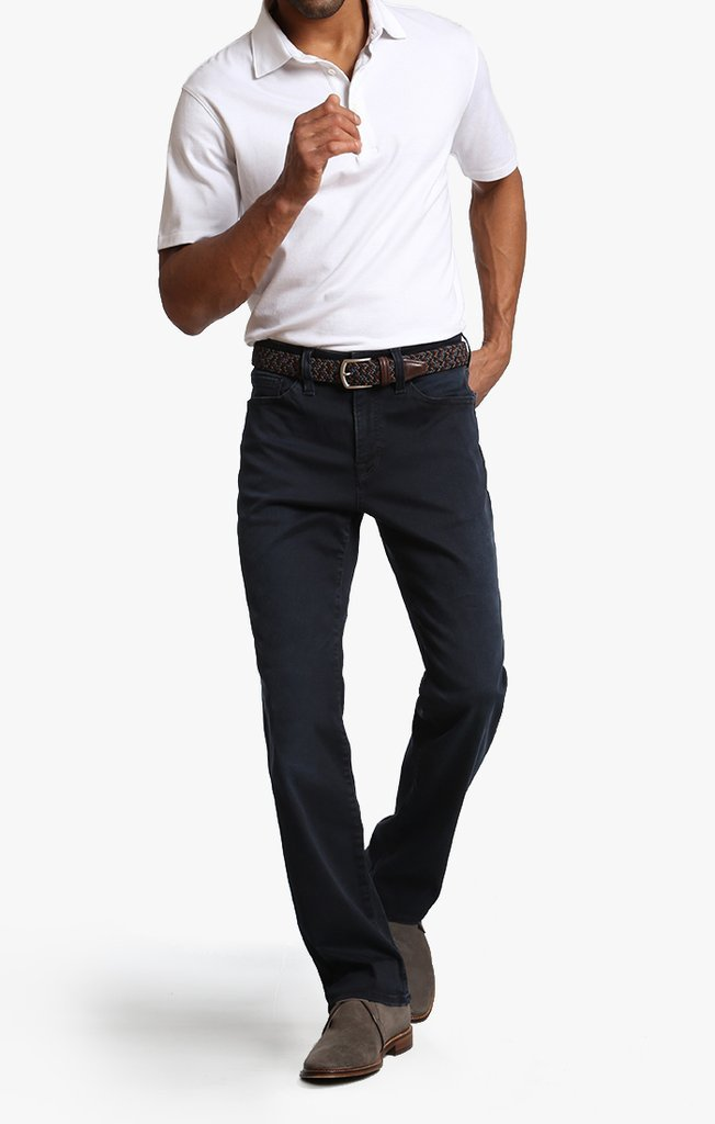 34 HERITAGE COOL TAPERED LEG JEANS IN DEEP REFORM