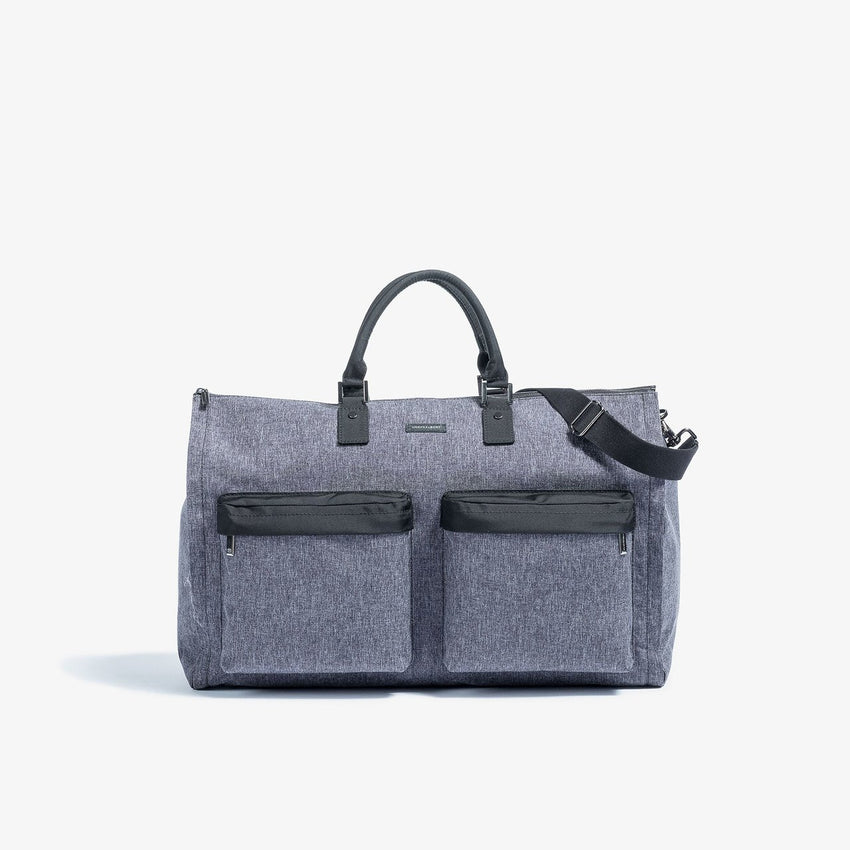 Hook & Albert Melange Fabric Garment Weekender Bag