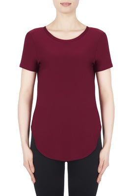 Joseph Ribkoff Top Style 183220 Cranberry Best Price On Sale