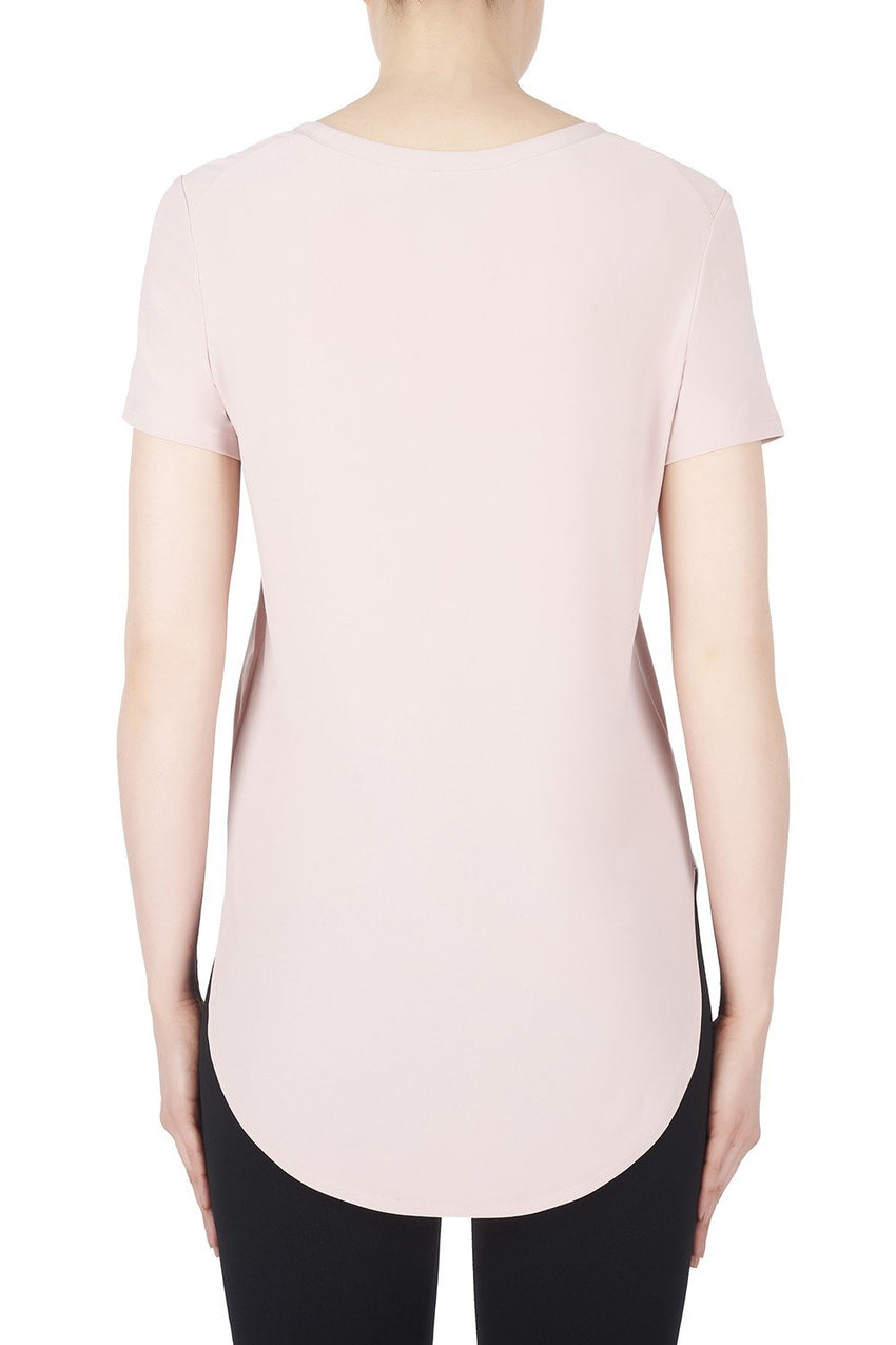 Joseph Ribkoff Top Style 183220 Winter Blush Pink Best Price On Sale