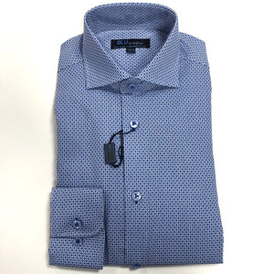 blue dress shirt polifroni