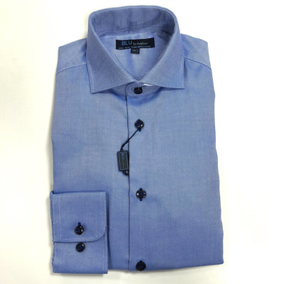 polifroni blu mens dress shirt