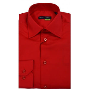 HORST | Bright Red Slim Fit Dress Shirt