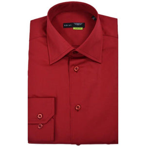HORST | Red Slim Fit Dress Shirt