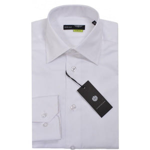 HORST | White Slim Fit Dress Shirt