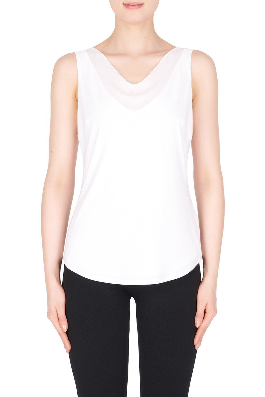 Joseph Ribkoff Camisole Style 183272 Vanilla Best Price On Sale