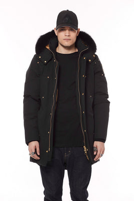 Mens Moose Knuckles Corner Brook Parka Black