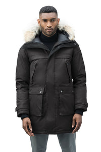 Nobis Yatesy Mens Long Parka
