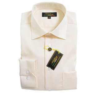Polifroni Milano | Ivory Cotton Dress Shirt