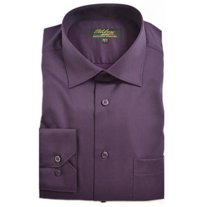 Polifroni Milano | Plum Cotton Dress Shirt