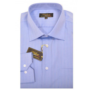 Polifroni Milano | GC350 Veneto Regular Fit Dress Shirt - Blue