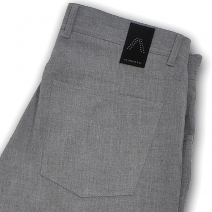 ALBERTO | Modern Fit Ceramica Stone Dress Pant - Light Grey
