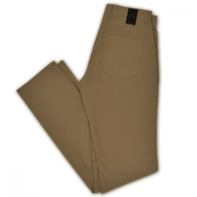 ALBERTO | Modern Fit Ceramica Stone Dress Pant - Tan