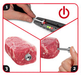 SteakChamp - The Ultimate Steak Thermometer - Grill Time Inc. LotusGrill live2grill