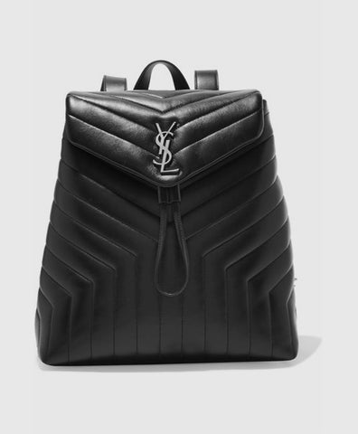 Loulou quilted leather backpack