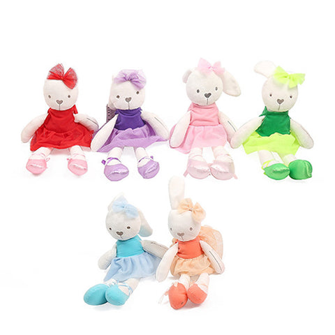 Adorable Funny Bunny Babes. Soft Plush Animals. Assorted Colors Available