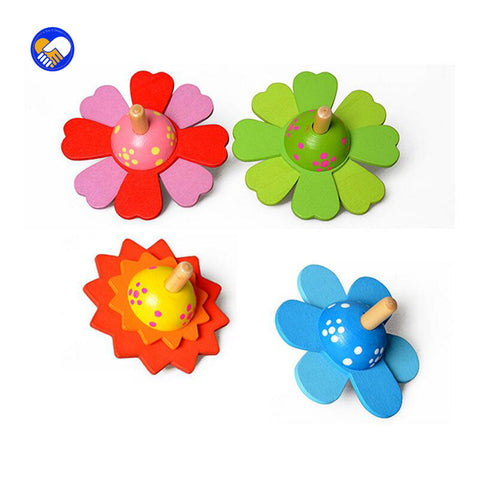 4pcs. Spinner Toys, Wooden, Sensory Fidgets Spinner, Anti Stress Toys