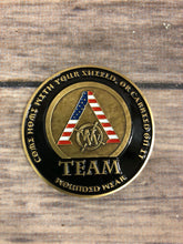 Team Wounded Wear Challenge Coin