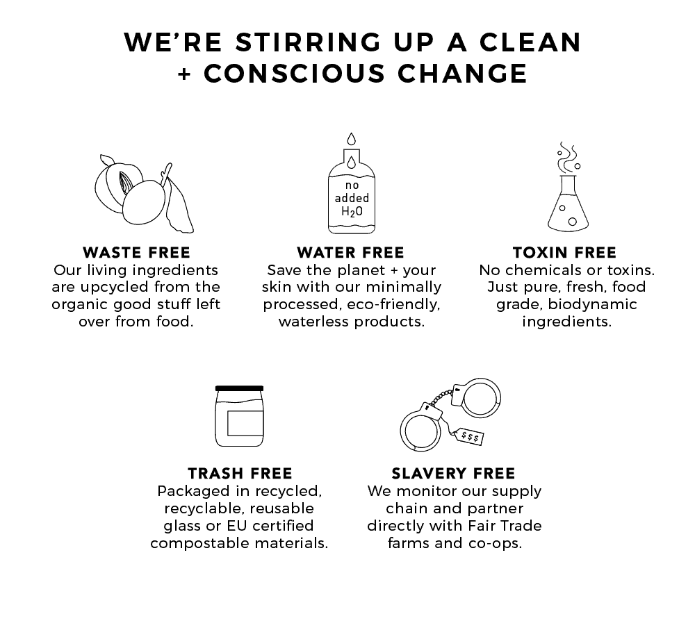 We're stirring up a clean + conscious change