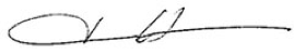 Tina Owner Signature