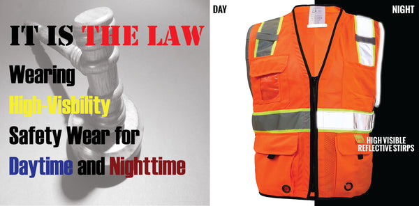 USA Safety Law Regarding Vest