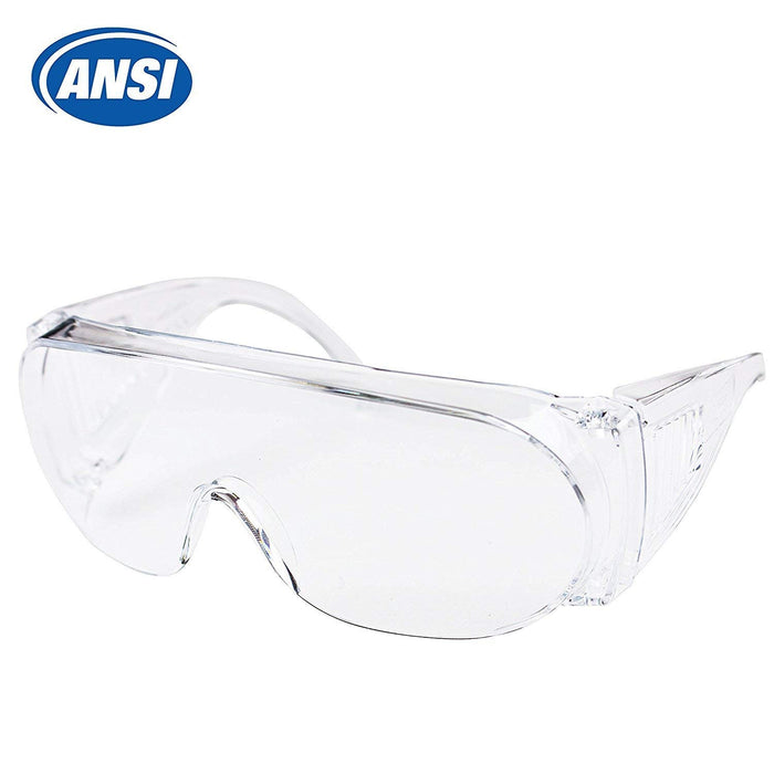 RK-SG101 Economical Safety Eyewear Transparent Crystal Glasses Clear-RK Safety-RK Safety
