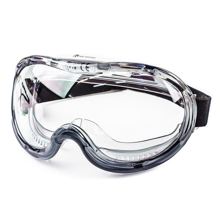 RK-GG201 Industrial Protective Indirect Vent Wide-Vision Goggles-RK Safety-RK Safety