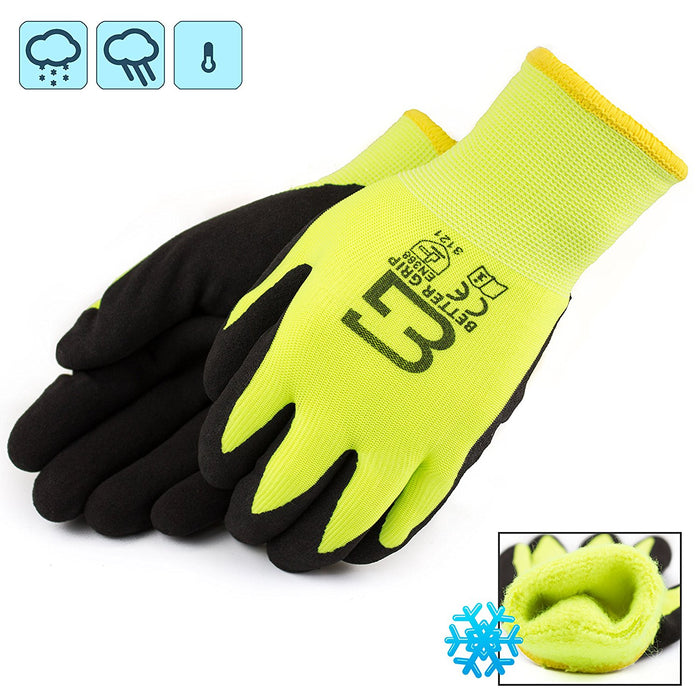 Better Grip® Double Lining Rubber Coated Gloves - BGWANS-LM-CS-Better Grip-RK Safety