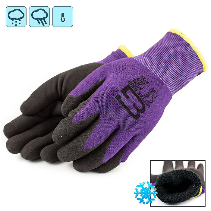 Better Grip® Double Lining Rubber Coated Gloves - BGWANS-PP-CS - RK Safety