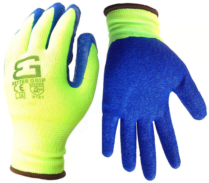 Better Grip® Nylon Gloves Textured Latex Coating Gripping - BGSCLLM - RK Safety
